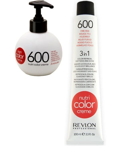 Revlon Nutri Color Creme 600 Fire Red 270ml + 100ml