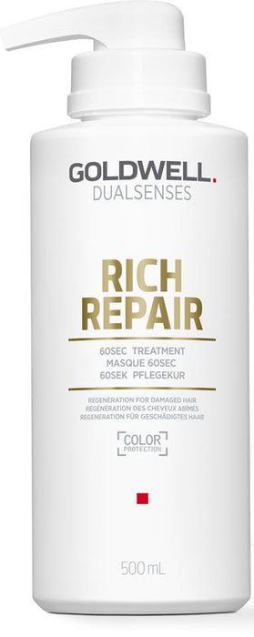 GOLDWELL DUALSENSES RICH REPAIR 60 SEC TREATMENT 500ML