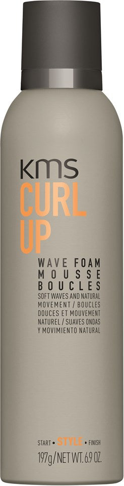 KMS Curlup Wave Foam 200ml