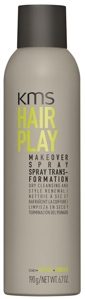 KMS HAIRPLAY MAKEOVER SPRAY VOC >55% 250ML