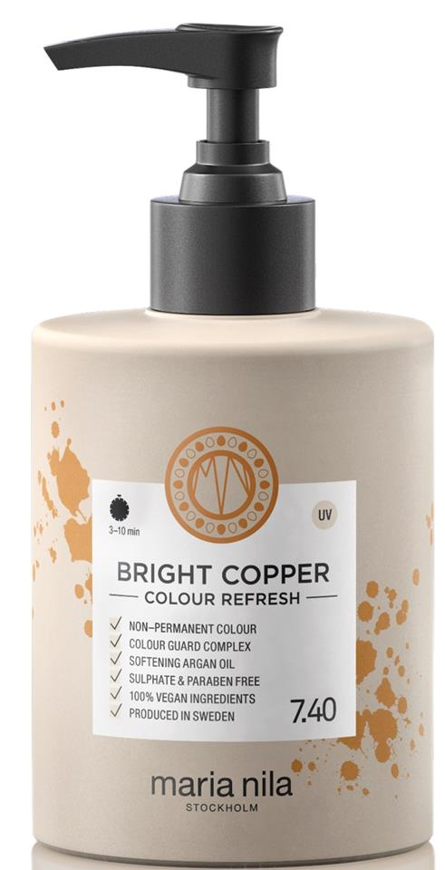Maria Nila Palett Colour Refresh Bright Copper 300ml