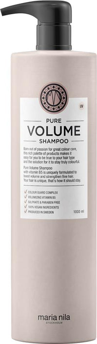MARIA NILA PURE VOLUME SHAMPOO  1000ML