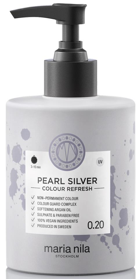 Maria Nila Palett Colour Refresh Pearl Silver 300ml