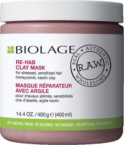 Matrix Biolage R.A.W. Recover Re-hab Clay Mask 400ml