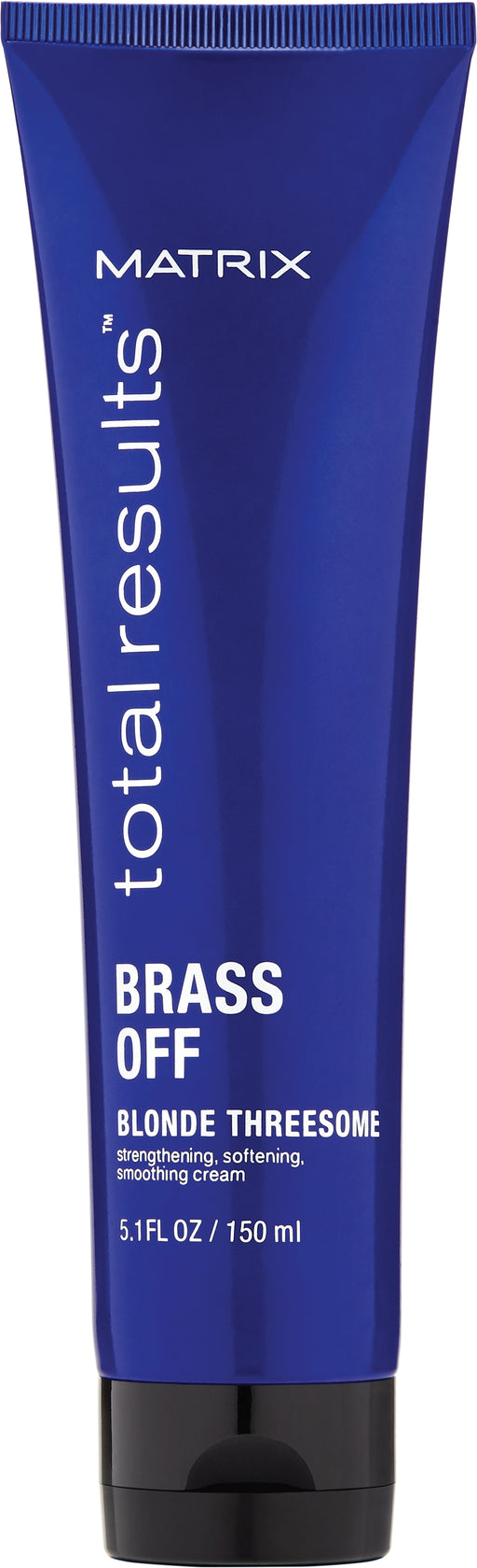 MATRIX TOTAL RESULTS BRASS OFF BLONDE THREESOME 150ML