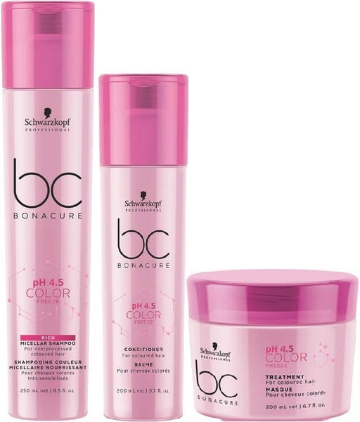 Schwarzkopf Bonacure Color Freeze Rich Trio