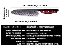 Load image into Gallery viewer, 297mm Santoku