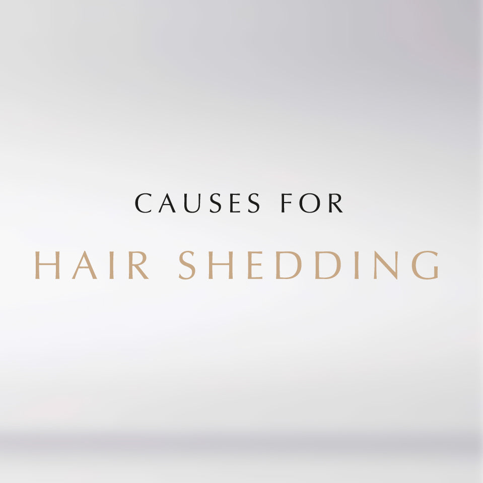 causes for hair shedding