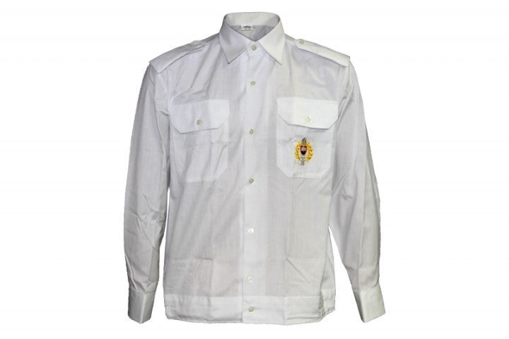 NEW CZECH WHITE DRESS SHIRT