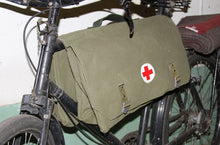 Load image into Gallery viewer, SWEDISH BICYCLE RED CROSS BAG HW