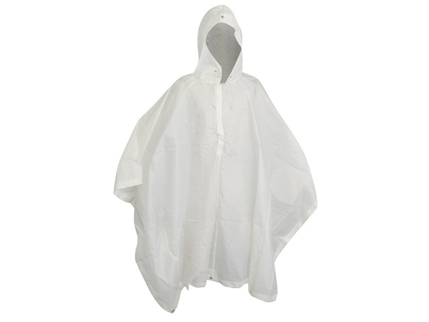 New Swiss White Snow Poncho