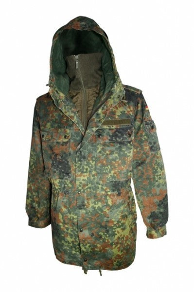 German Flecktarn Parka w/Liner