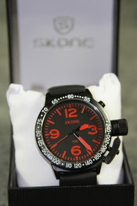 Japanese Skone Watch Red Dial