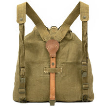 Load image into Gallery viewer, Czech Army Linen Backpack