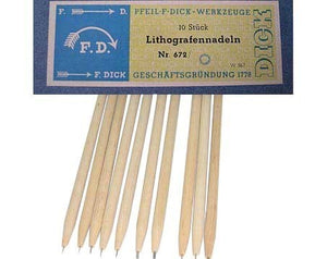 German Lithograph Needles
