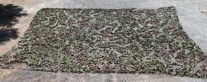 British Army Woodland Camo Net 27' x 27' - Used