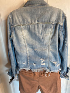 Washed Out Denim Jacket
