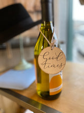 Load image into Gallery viewer, Wooden Wine Bottle Charm