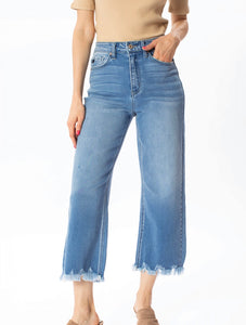 Can't Get Enough Cropped Denim