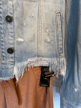 Load image into Gallery viewer, Washed Out Denim Jacket