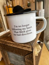 Load image into Gallery viewer, Small n Snarky Tin Coffee Mug