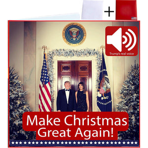 Talking Trump Christmas Card - Crusader Outlet