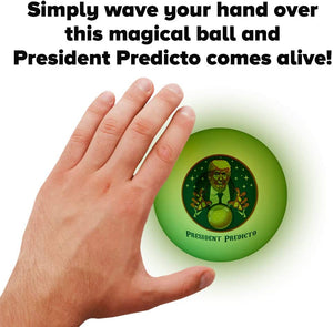 President Predicto - Donald Trump Fortune Teller Ball - Crusader Outlet