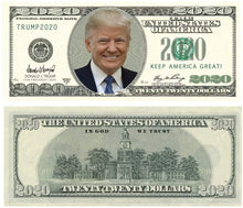 Load image into Gallery viewer, Donald Trump Money Gun With 100 Trump Dollar Bills - Crusader Outlet