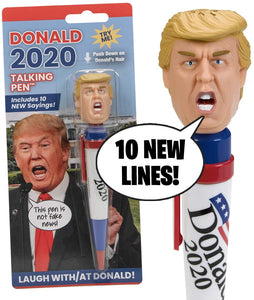 Trump 2020 Talking Pen - Crusader Outlet