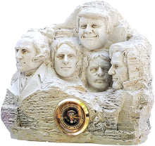 Load image into Gallery viewer, Mount Rushmore 2024 Desk Clock