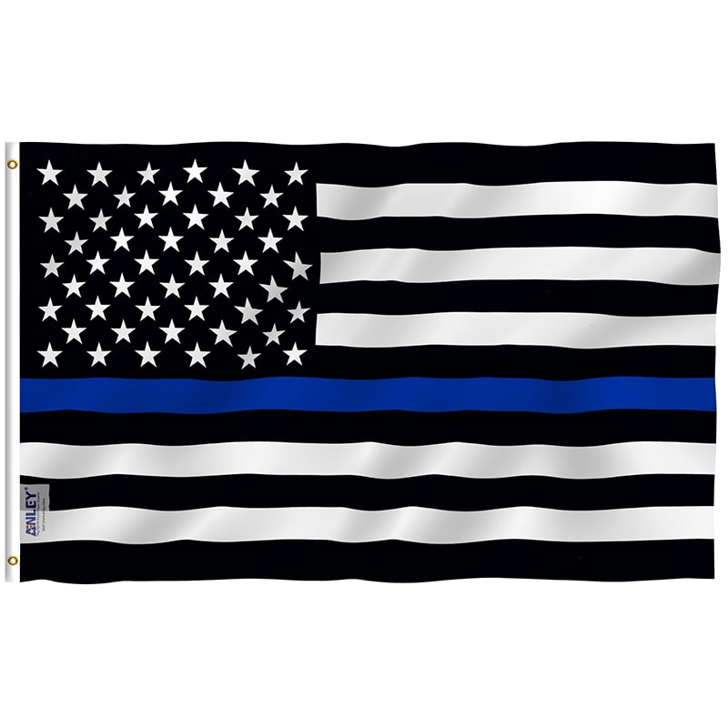 Thin Blue Line Flag - Crusader Outlet