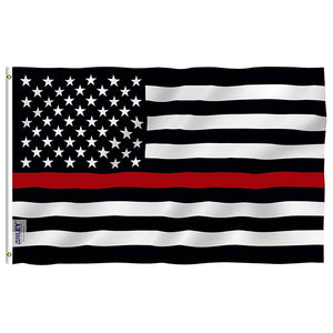 Thin Red Line Flag - Crusader Outlet