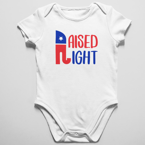 Raised Right Onesie