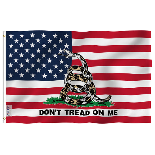 Don't Tread On Me Gadsden American Flag - Crusader Outlet