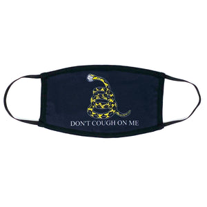 Don't Cough On Me Mask (Black) - Crusader Outlet