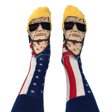 Load image into Gallery viewer, Trumpinator 2020 Socks - Crusader Outlet