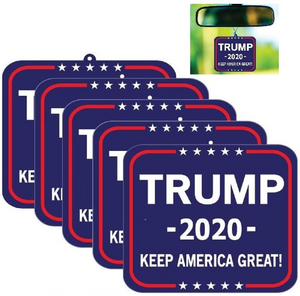 Trump 2020 Air Freshener-Set of 5