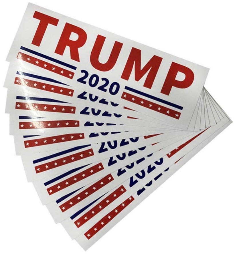 Trump 2020 Bumper Sticker - Crusader Outlet