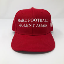 Load image into Gallery viewer, Make Football Violent Again Hat - Crusader Outlet