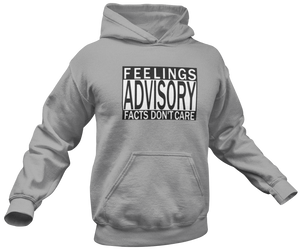 Feelings Advisory Hoodie - Crusader Outlet