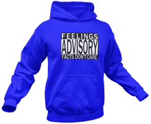Load image into Gallery viewer, Feelings Advisory Hoodie - Crusader Outlet