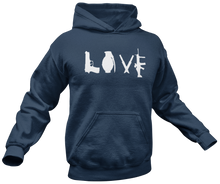 Load image into Gallery viewer, Love Guns Hoodie - Crusader Outlet