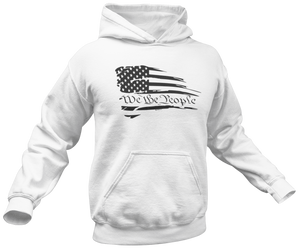 Battle Worn We The People Hoodie - Crusader Outlet