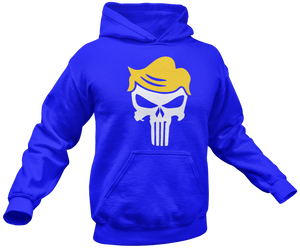 Trump Punisher Skull Hoodie - Crusader Outlet
