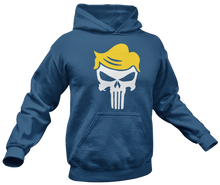 Load image into Gallery viewer, Trump Punisher Skull Hoodie - Crusader Outlet