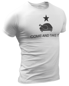 Come and Take It Thanksgiving Turkey Tee