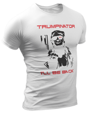 Load image into Gallery viewer, Trumpinator 2024, I'll Be Back Tee
