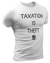 Load image into Gallery viewer, Taxation Is Theft AOC Parody Tee