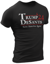 Load image into Gallery viewer, Trump DeSantis 2024 Tee