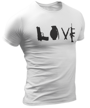 Load image into Gallery viewer, Love Guns Tee - Crusader Outlet